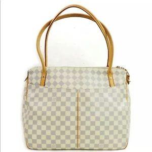 Louis Vuitton Damier Azur Figheri tote bag